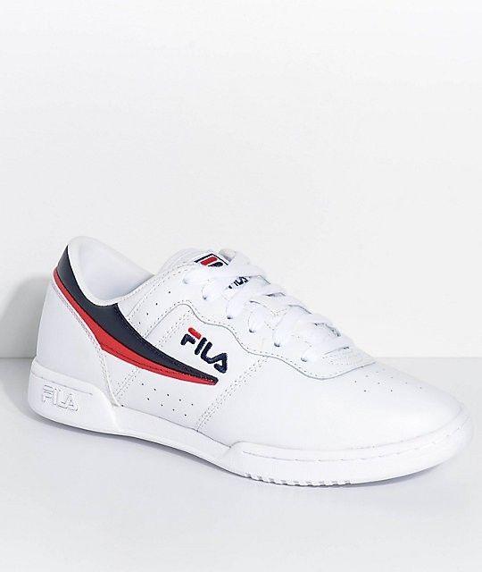 FILA Women's Original Fitness Sneaker (WhiteWhiteTeal Logo