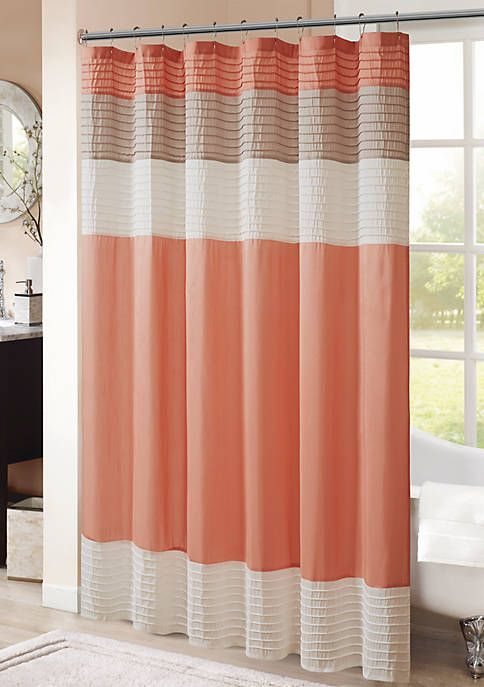 Hipstyle Amherst Shower Curtain With Images Long Shower Curtains Curtains Ruffle Shower Curtains