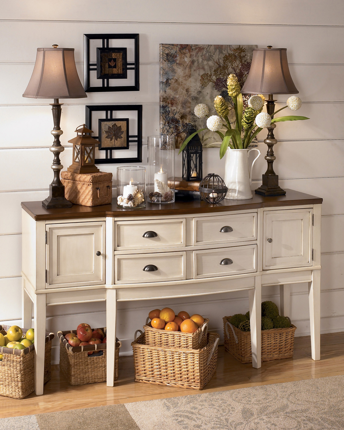 Whitesburg Dining Room Serverashley  Home Gallery Stores Gorgeous Dining Room Buffet Servers Decorating Design