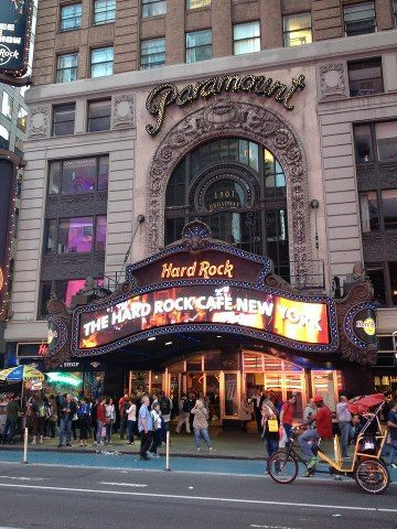 Hard Rock Cafe Manhattan New York City Nyc Photography Nyc