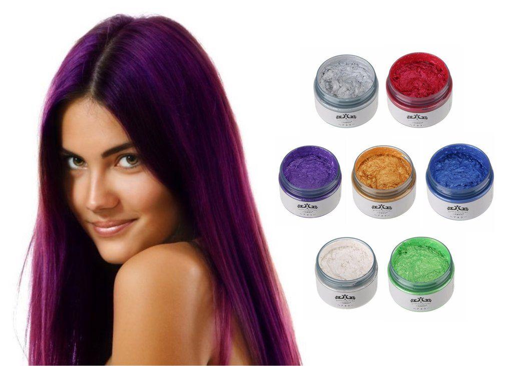 Temporary Hair Color Wax | Hair color, Temporary hair color, Hair pomade