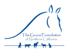 The Grace Foundation of NoCal - animal rescue ranch in El Dorado Hills