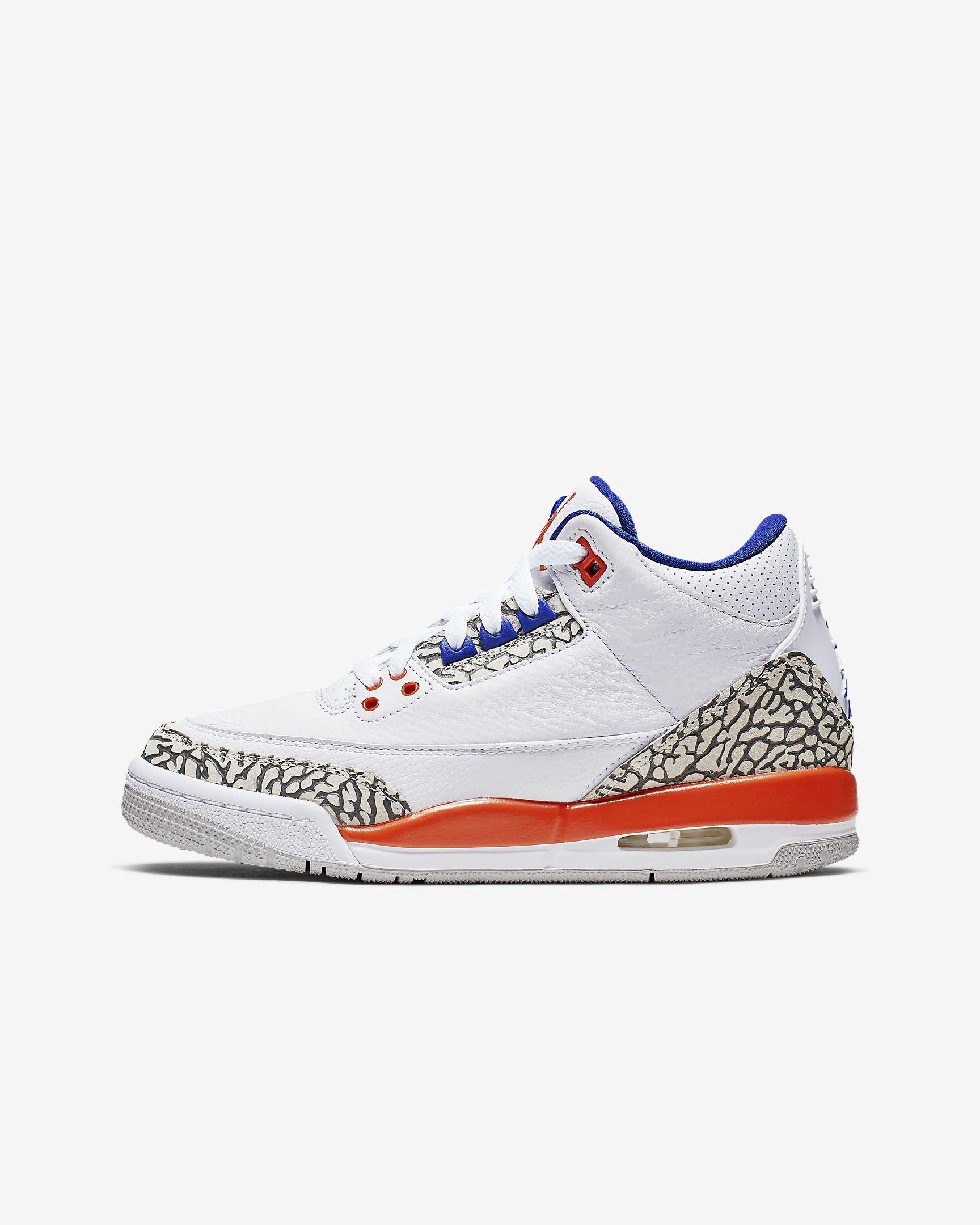 Air Jordan 3 Retro Kids' Shoe. Nike.com
