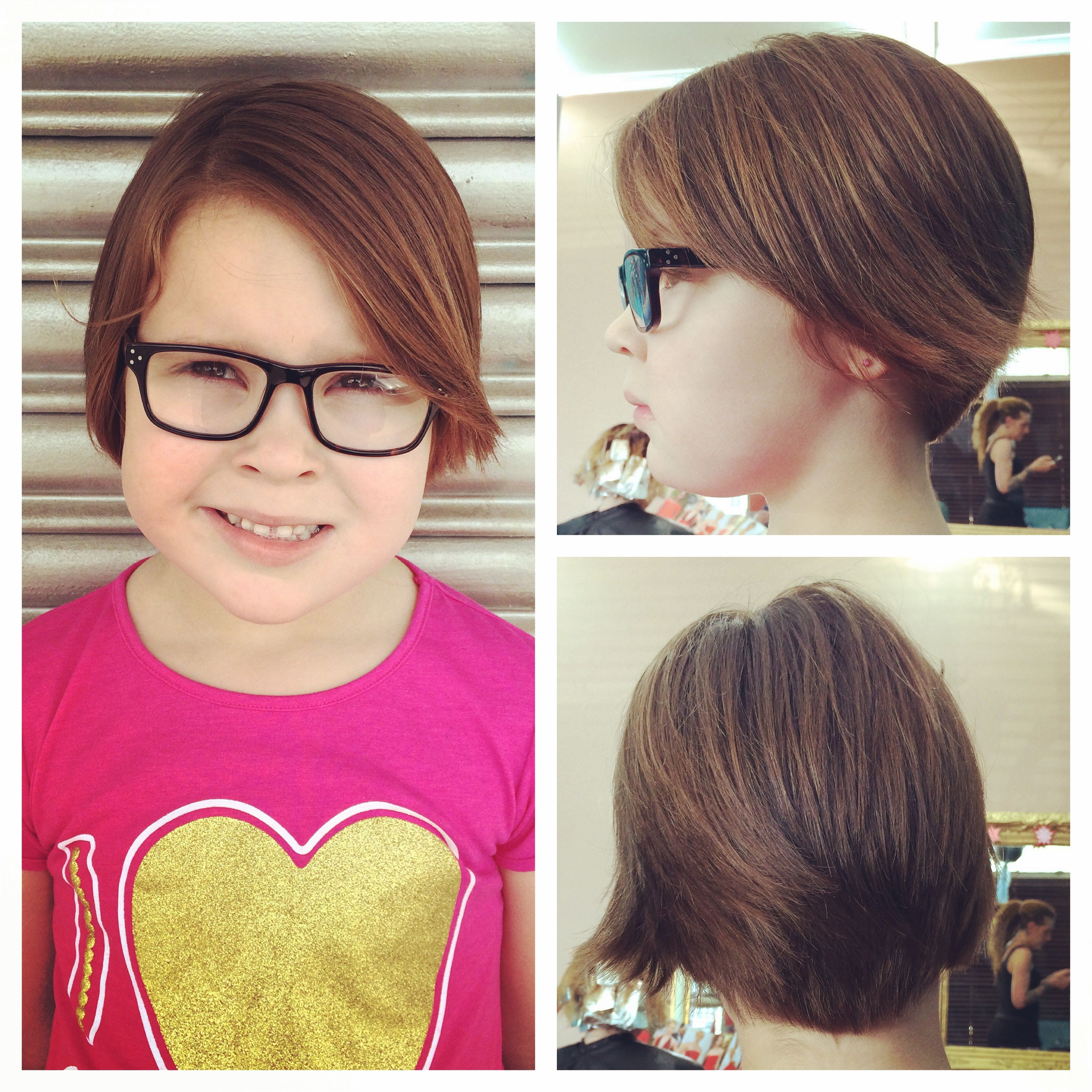 Long pixie haircut on little girl chic cute and easy kids hair
