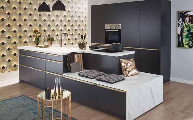 Küche im 20er Jahre Art Deco Stil Golden 20ies Küche Pinterest - esszimmer 20er jahre