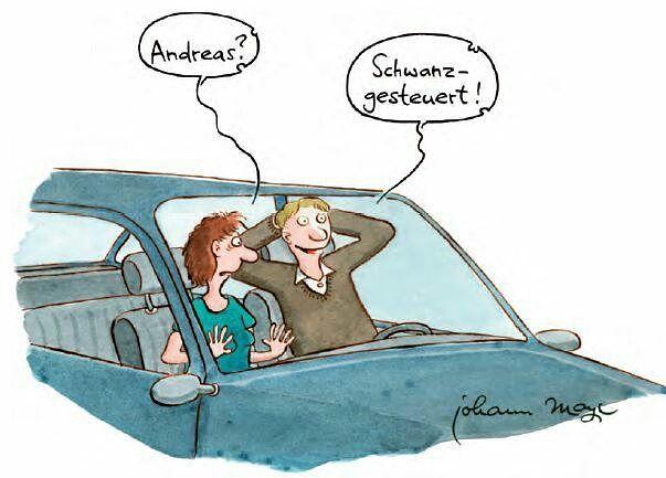 Ohne Worte ... vom EULENSPIEGEL  #Männer #praktisch #lustig #Eulenspiegel #comic