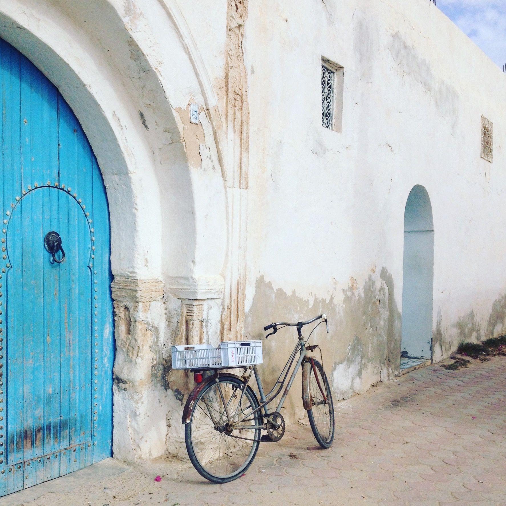 Houch ou maison traditionnelle Djerbienne Djerba Tunisie