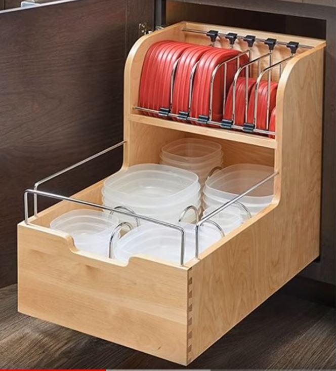 storage of tupperware in cabinets  küchenschrank
