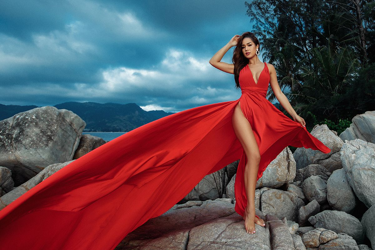 miss universe thailand 2020 in 2020 | photoshoot dress, tea