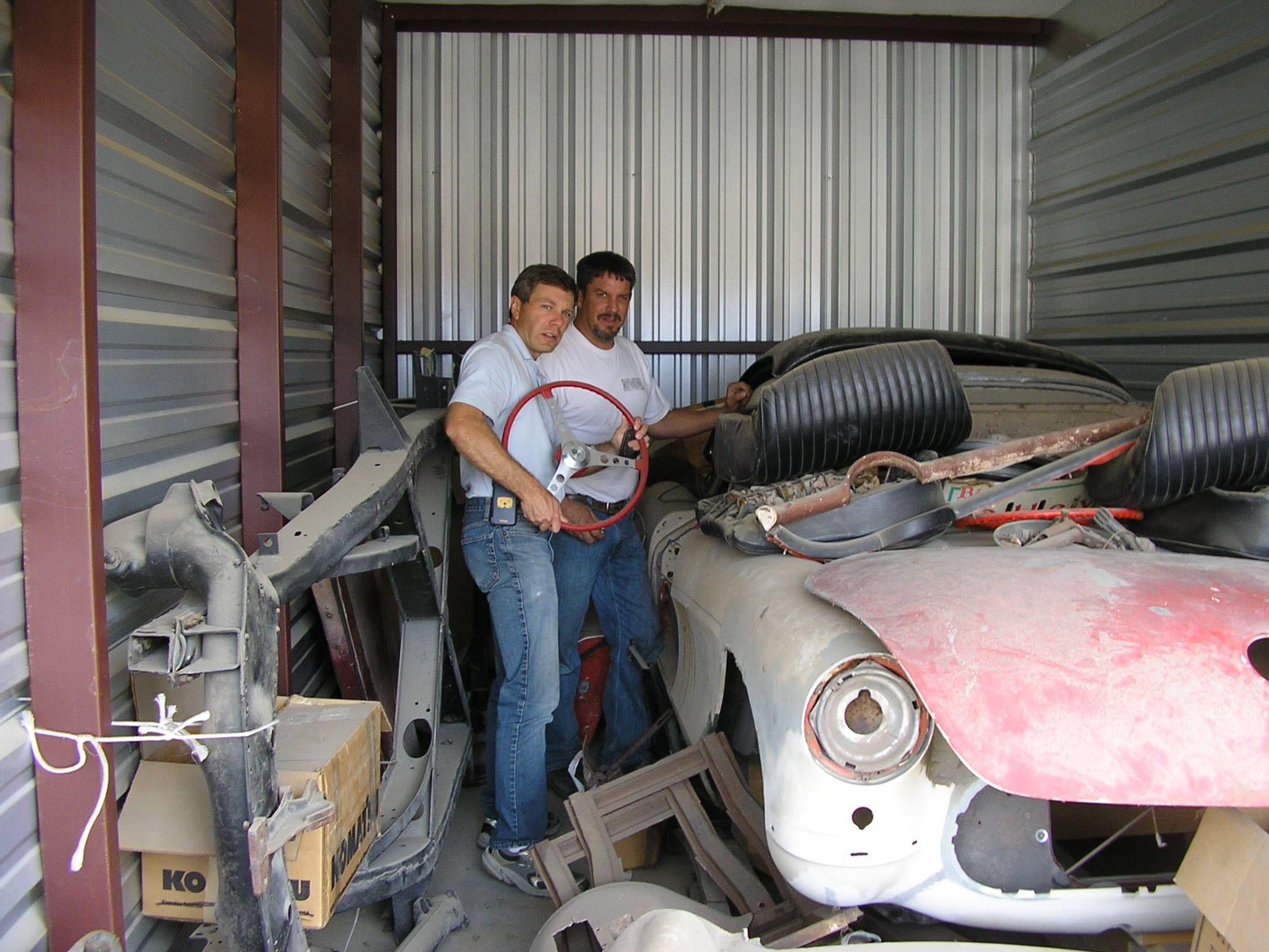 1957 FI Barn Corvette | Corvette, Barn find cars, Barn finds