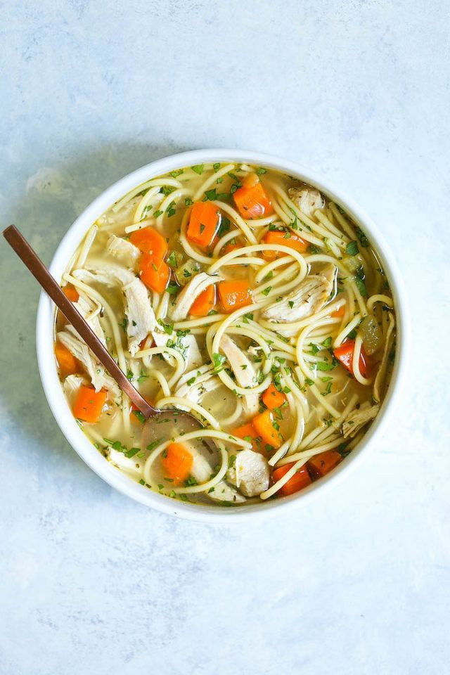 instant pot chicken noodle soup  recipe  food food