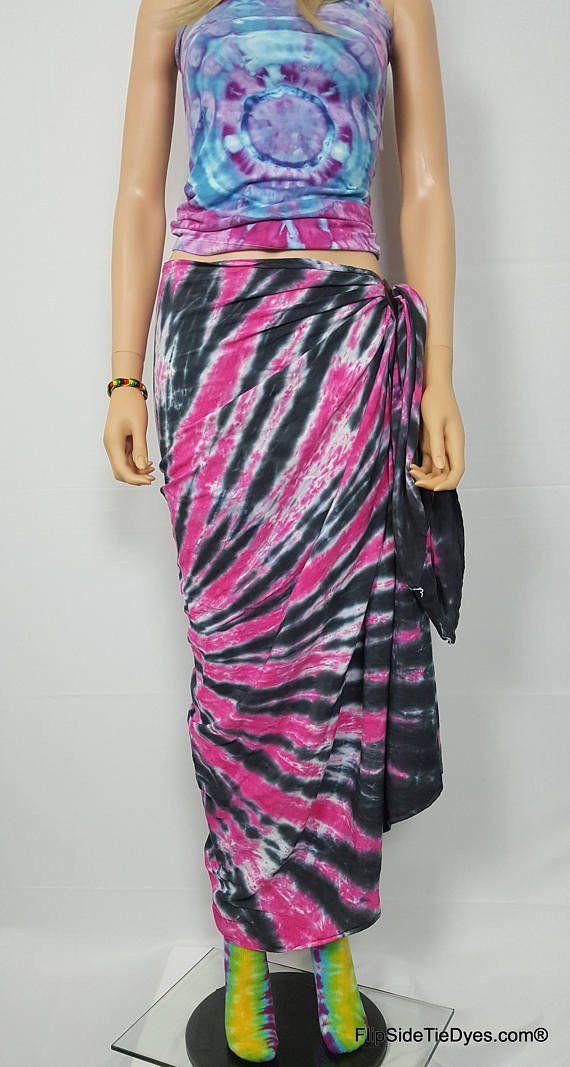 Tie Dye Pink Sarong 74\