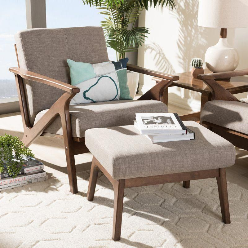 Wojtala Mid Century Modern 2 Piece Living Room Set In 2020 Mid