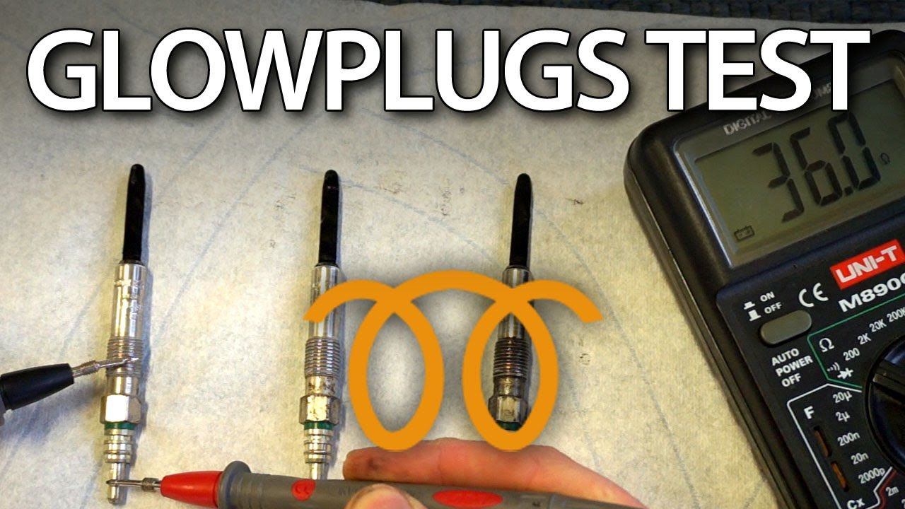 How To Check Diesel Glow Plugs Diagnostics Cars Automotive