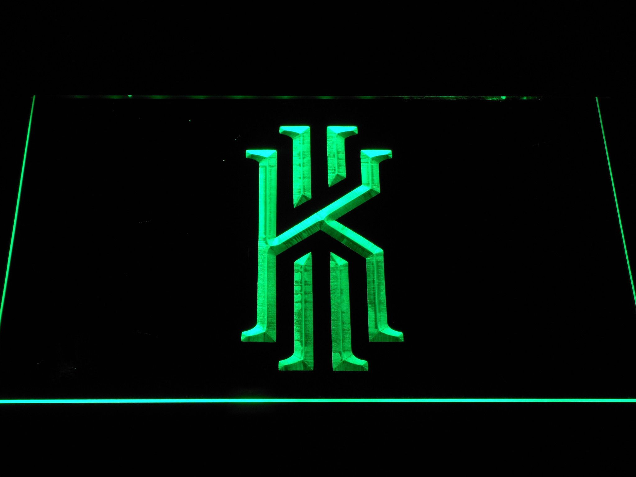 Cleveland Cavaliers Kyrie Irving Logo Led Neon Sign Led Neon Signs Irving Logo Kyrie Irving Logo