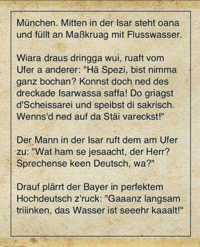 übersetzung auf bayrisch