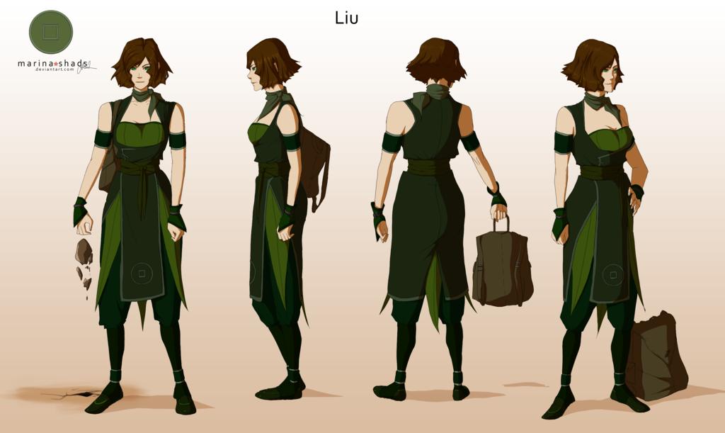 avatar character design liu -avatar character concept design-marina-shads