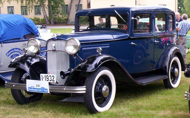 1932 Ford model B 160 Standard Four door Sedan  Cars of the 1930s