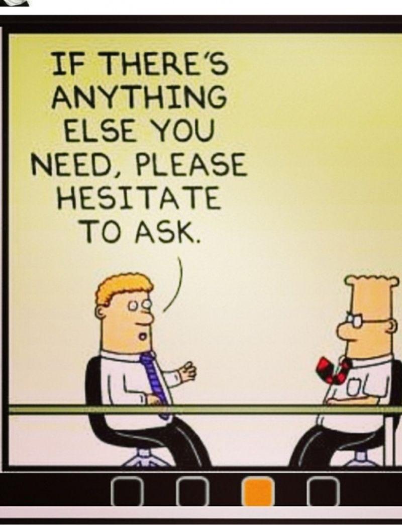 49 Wry Observations Of Life At Work By Dilbert Work Jokes Office Memes Humor Hr Humor