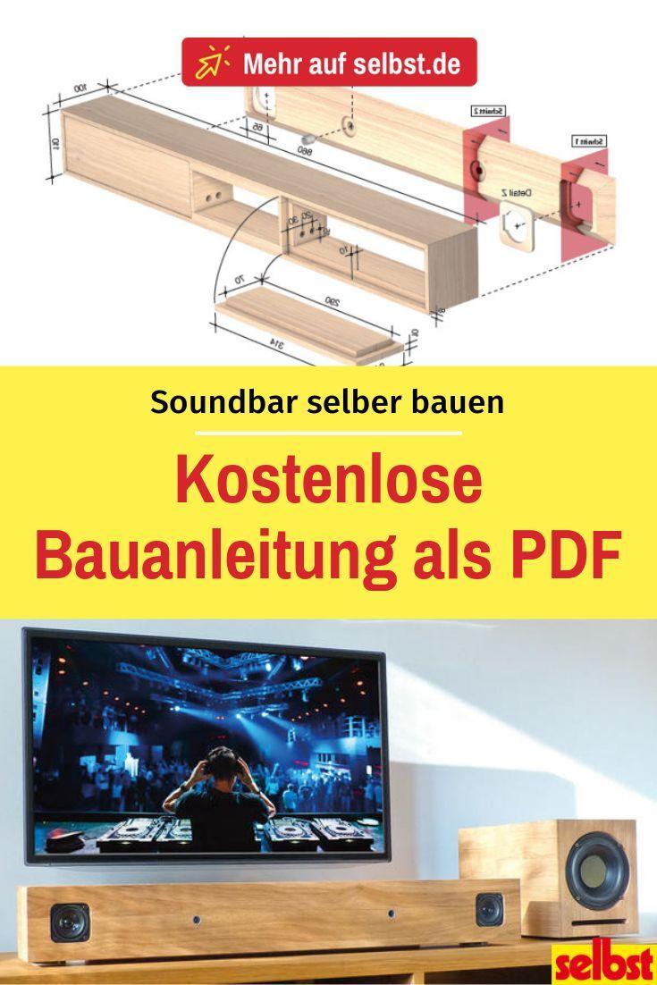 Bauanleitung PDF Download kostenlos Soundbar