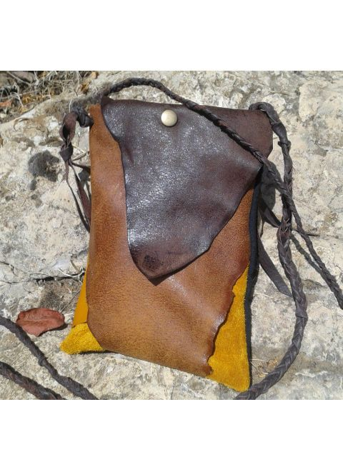 Leather Purse bag / Small Crossbody Shoulder by LunaBagDesigns, $100.00