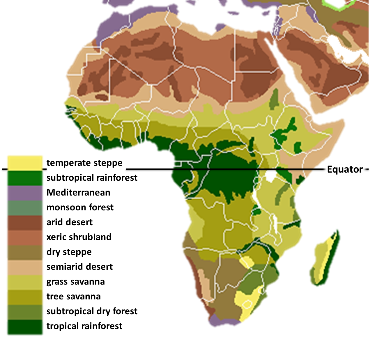 Biomes of Africa   West Africa   Pinterest   Biomes and Africa