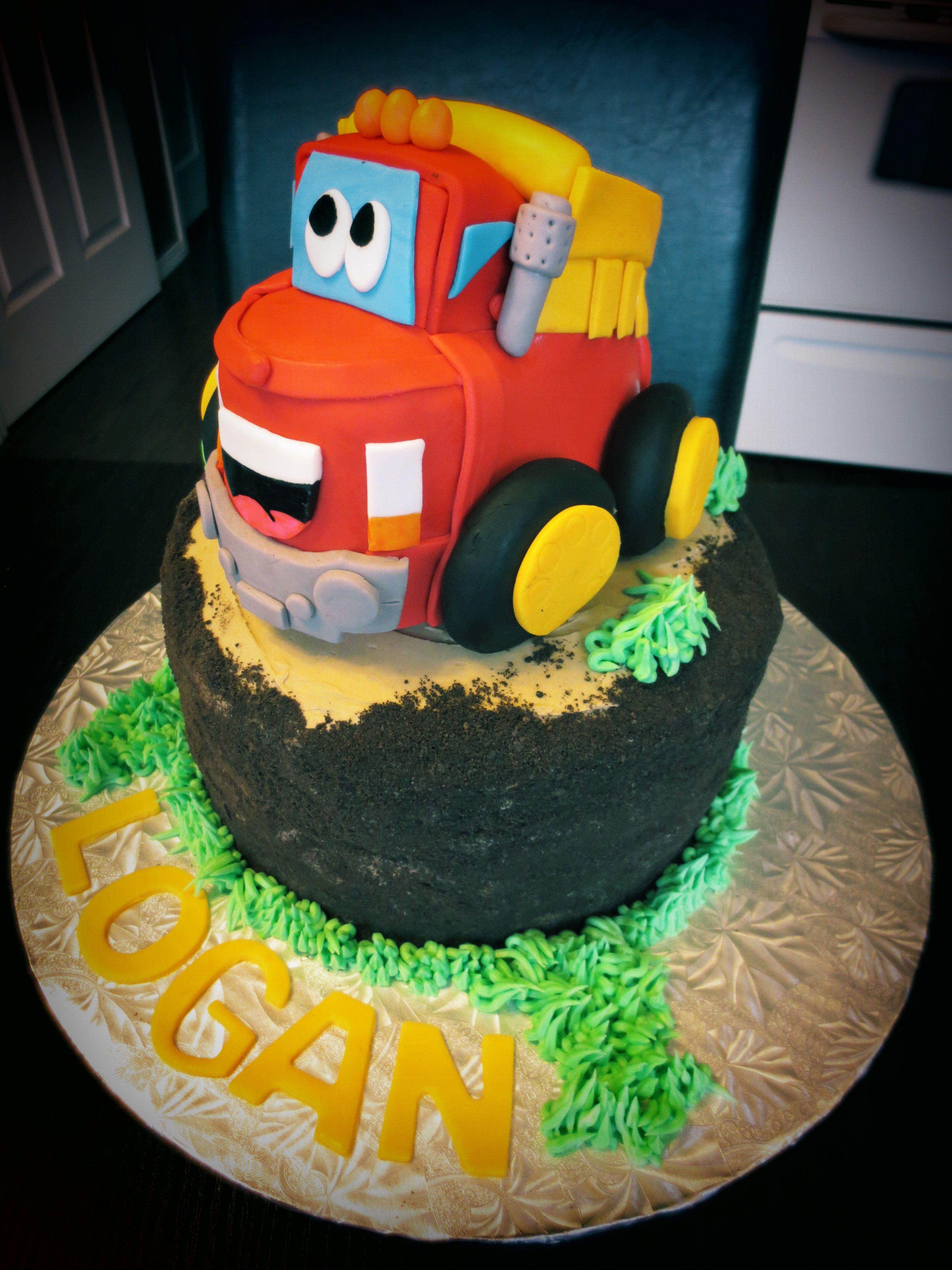 Chuck Truck Cake