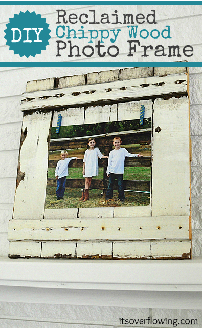 Reclaimed Wood Projects {click the pic for the scoop} @ItsOverflowing.com.com