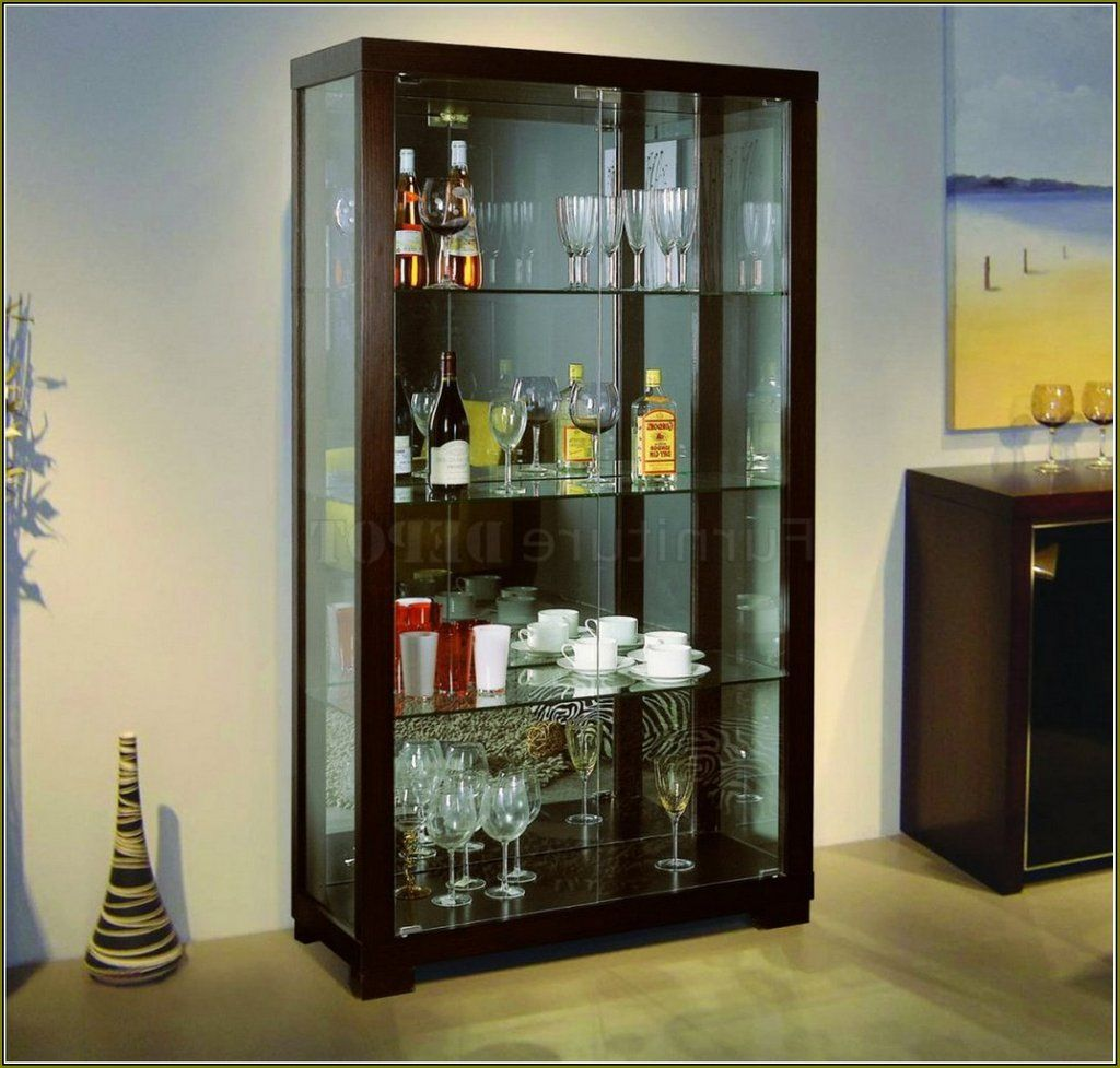 Table Top Glass Curio Cabinet Home Design Idea Choosing Modern Curio  Cabinets