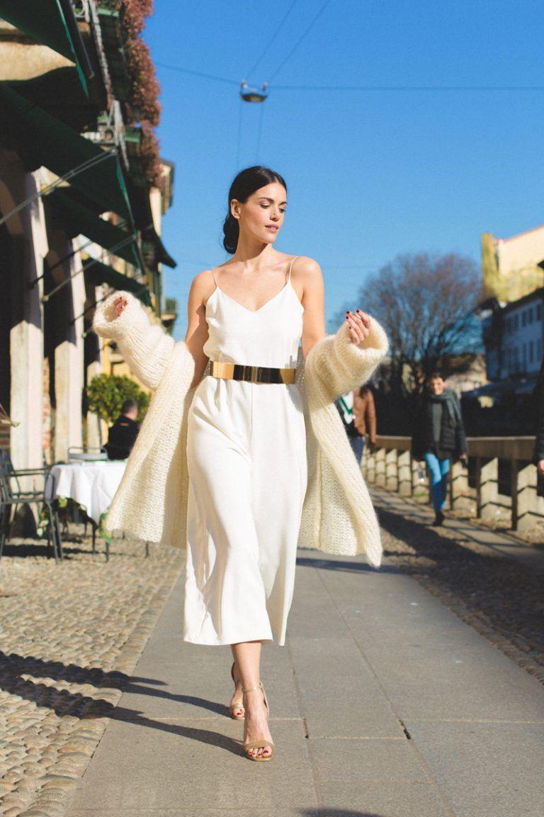 marryandbride goes Milan  Hochzeit kleid standesamt, Kleid