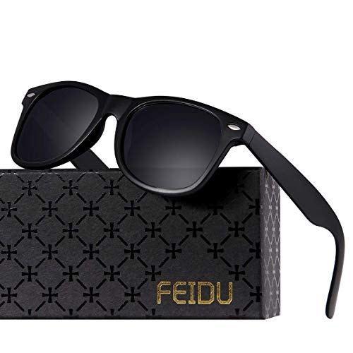 d4b3a462aabe Polarized Sunglasses for Men Retro - FEIDU Polarized Retro Sunglasses for  Men FD2149 http:/