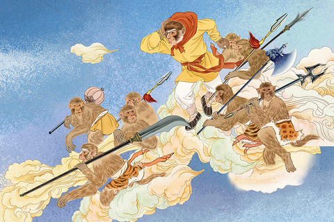 FREE Apps Multilingual Books Monkey king, Year of the