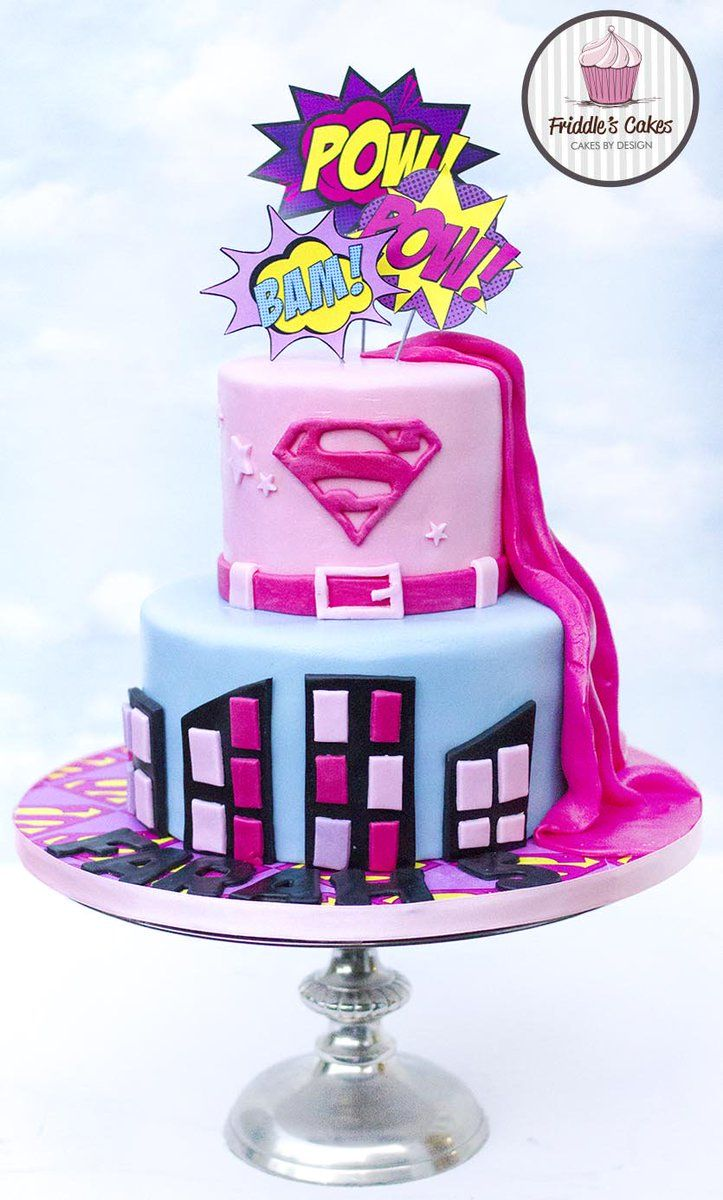 super hero cakes for girls Google Search 6 yr girl cakes