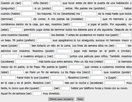 Pretérito Imperfecto Y Pretérito Indefinido Learning Spanish Teaching Spanish Spanish Lesson Plans