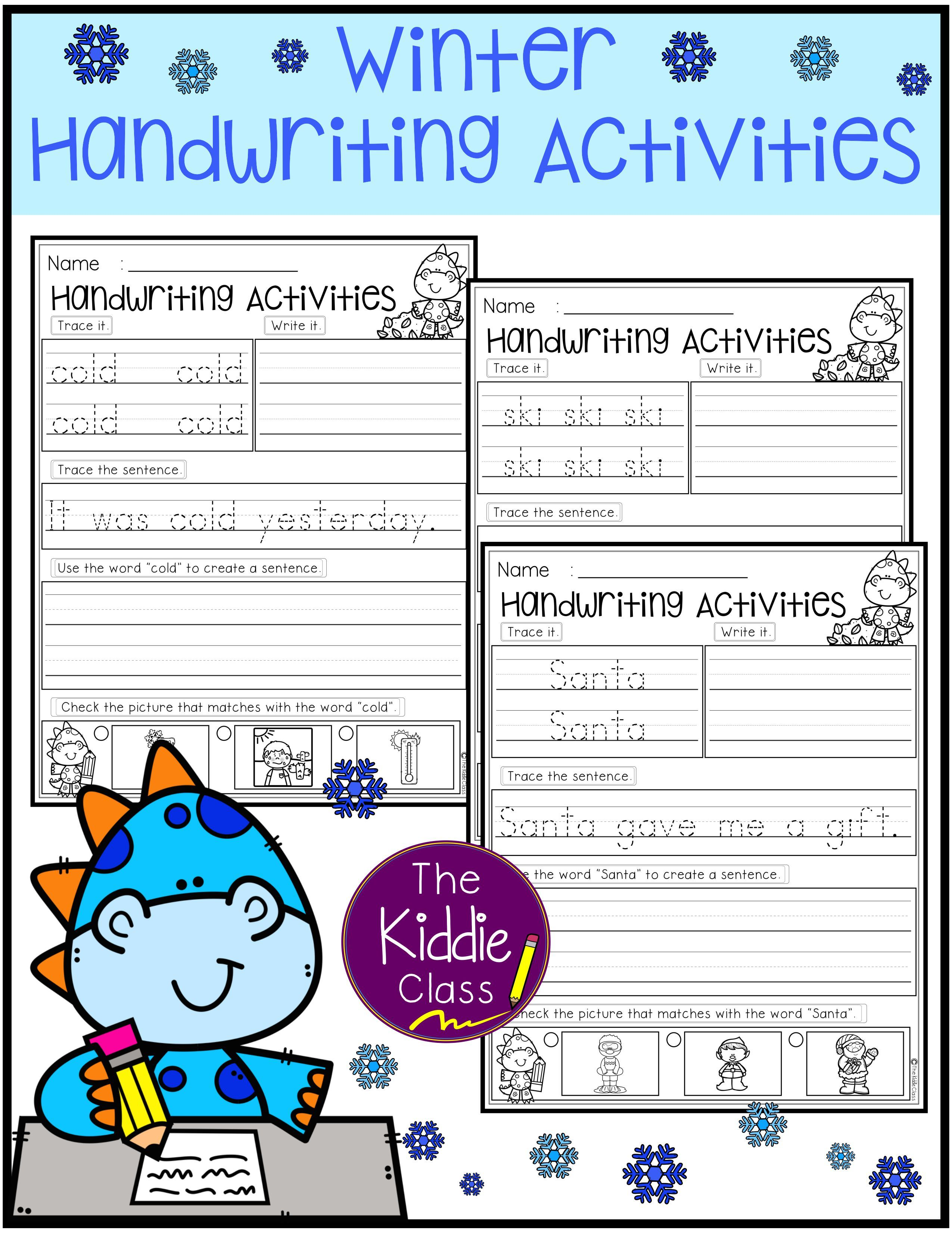 There Are 20 Pages Of Writing Activities Worksheets In This Packet There Are 20 Fall Autumn Vocabulary Wo Handwriting Activities Activities Writing Activities [ 3300 x 2550 Pixel ]