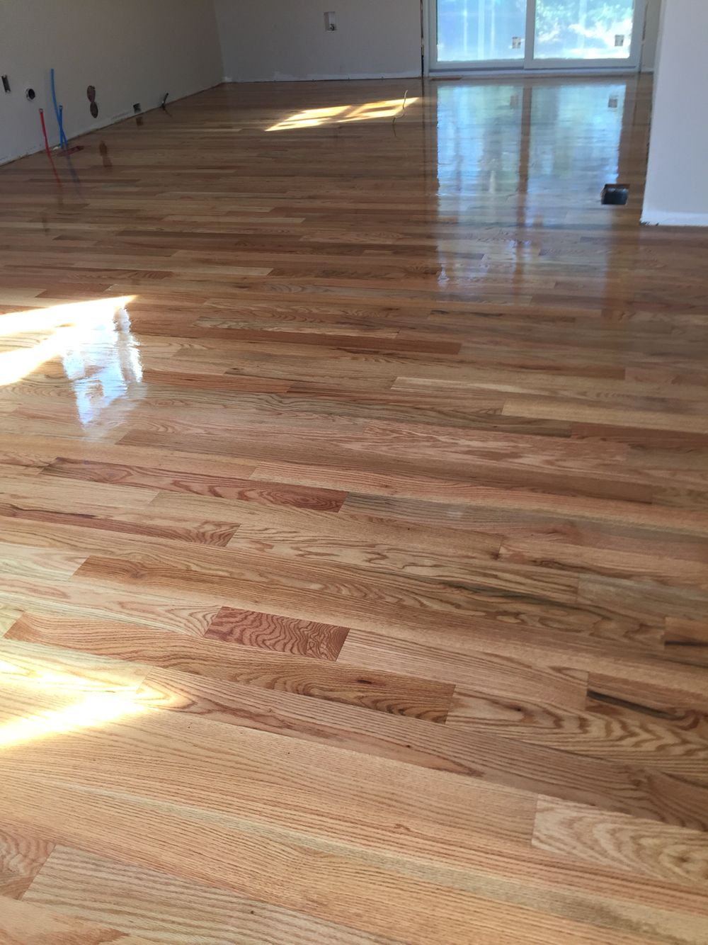 White Oak Hardwood Floors With No Stain Oak Hardwood Flooring Hardwood Floors Flooring