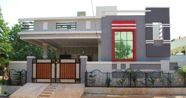 Exterior Wall Compound Wall Design Photos India Trendecors