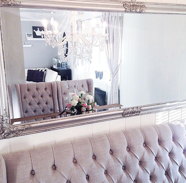 Button back reflections. Shop our mirrors and Button back furniture now
