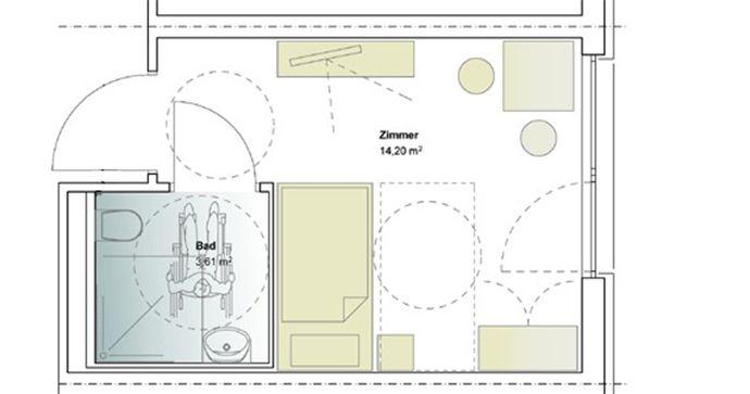 Pflegeheim 1 Platz M Plus Architekten Pflegeheim Heim Pflege