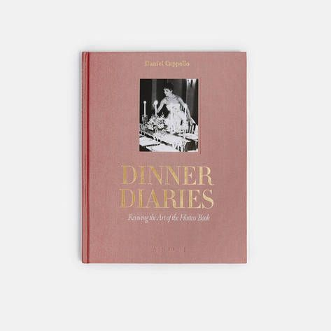 Assouline Dinner Diaries Bibliothecary Books Coffee