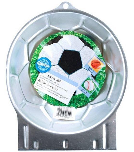 Wilton Cake Pans Novelty Soccer Ball In 2020 Wilton Cake Pans Soccer Ball Cake Cake Pans