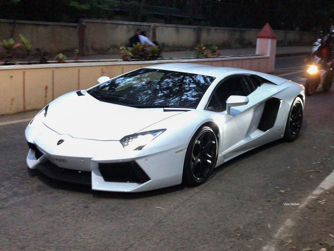 Av Lamborghini Aventador Bangalore Perfection The Impossible