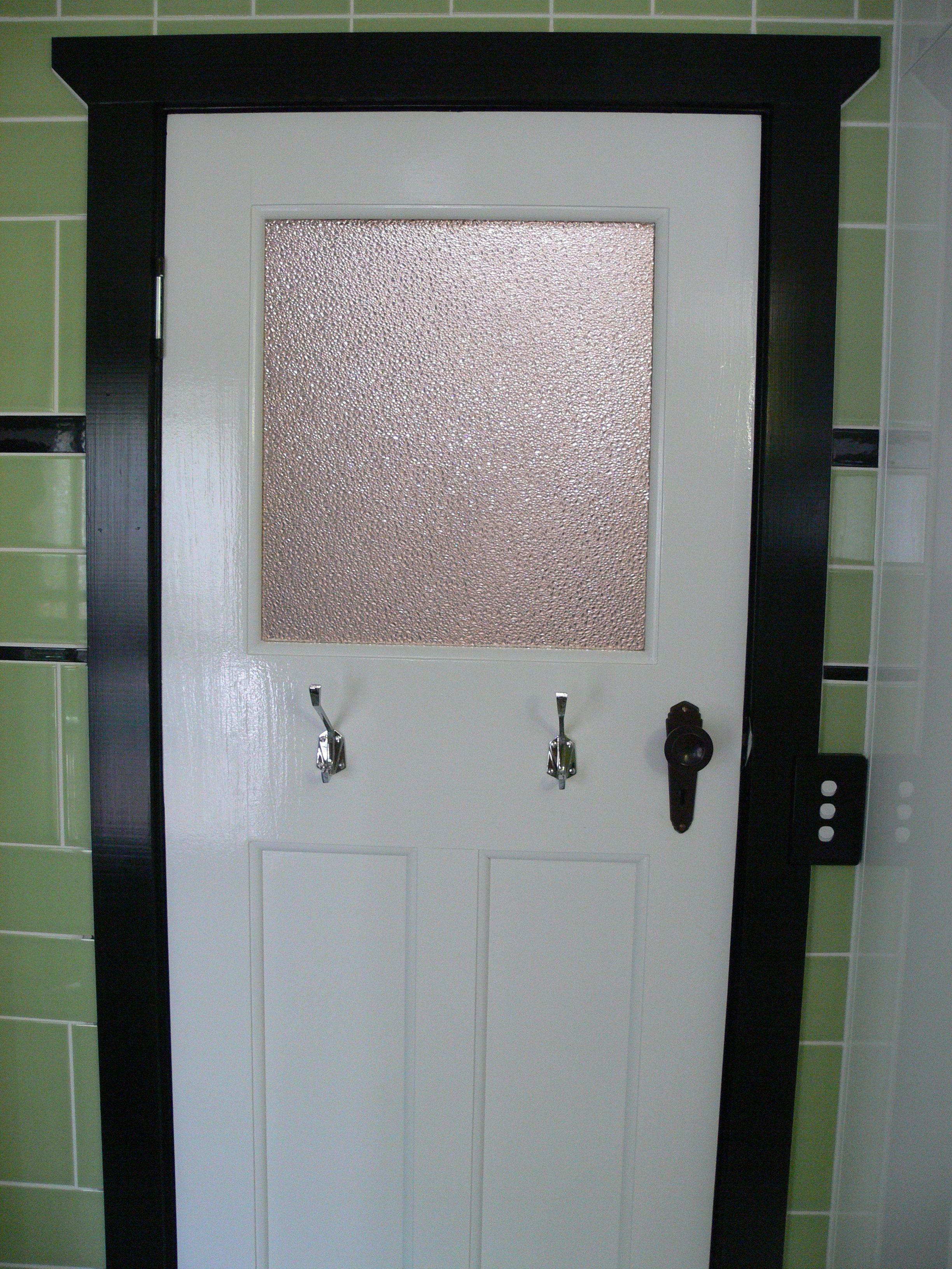 Ensuite bathroom internal door & Ensuite bathroom internal door | Our 1920s Art Deco House ... Pezcame.Com