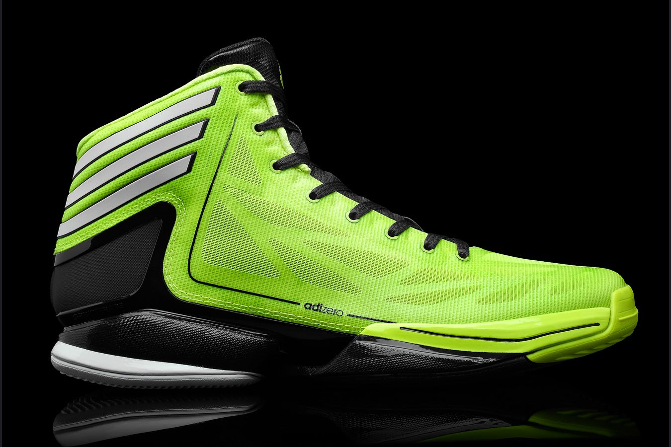 Adidas Adizero Crazy Light 2 in Electricity and Black colourway ... 93ffb99db4