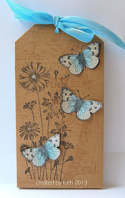 Kath's Blog......diary of the everyday life of a crafter: Stamping with Hero Arts...