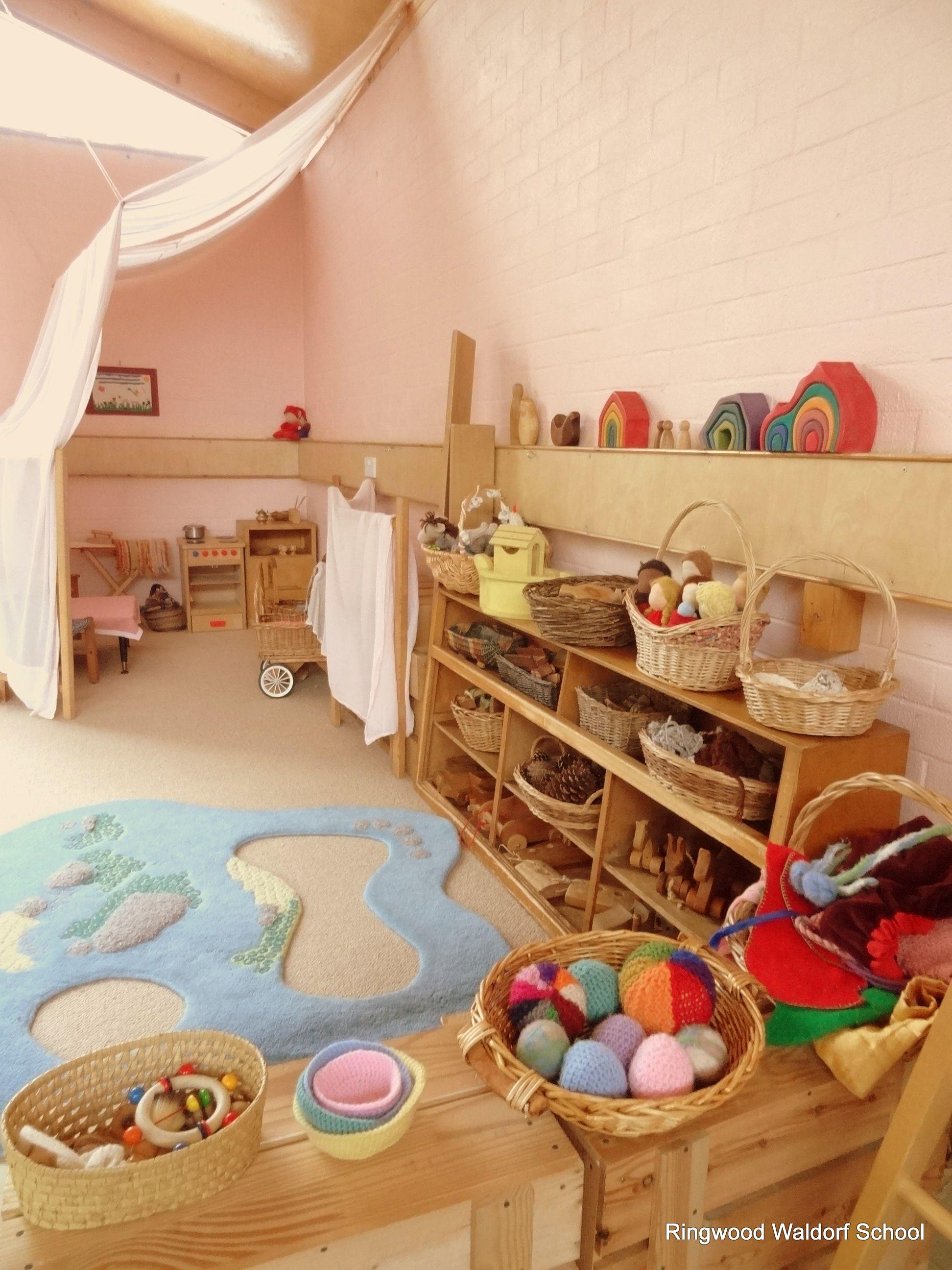 Waldorf parent and child group or little Kindergarten (mit