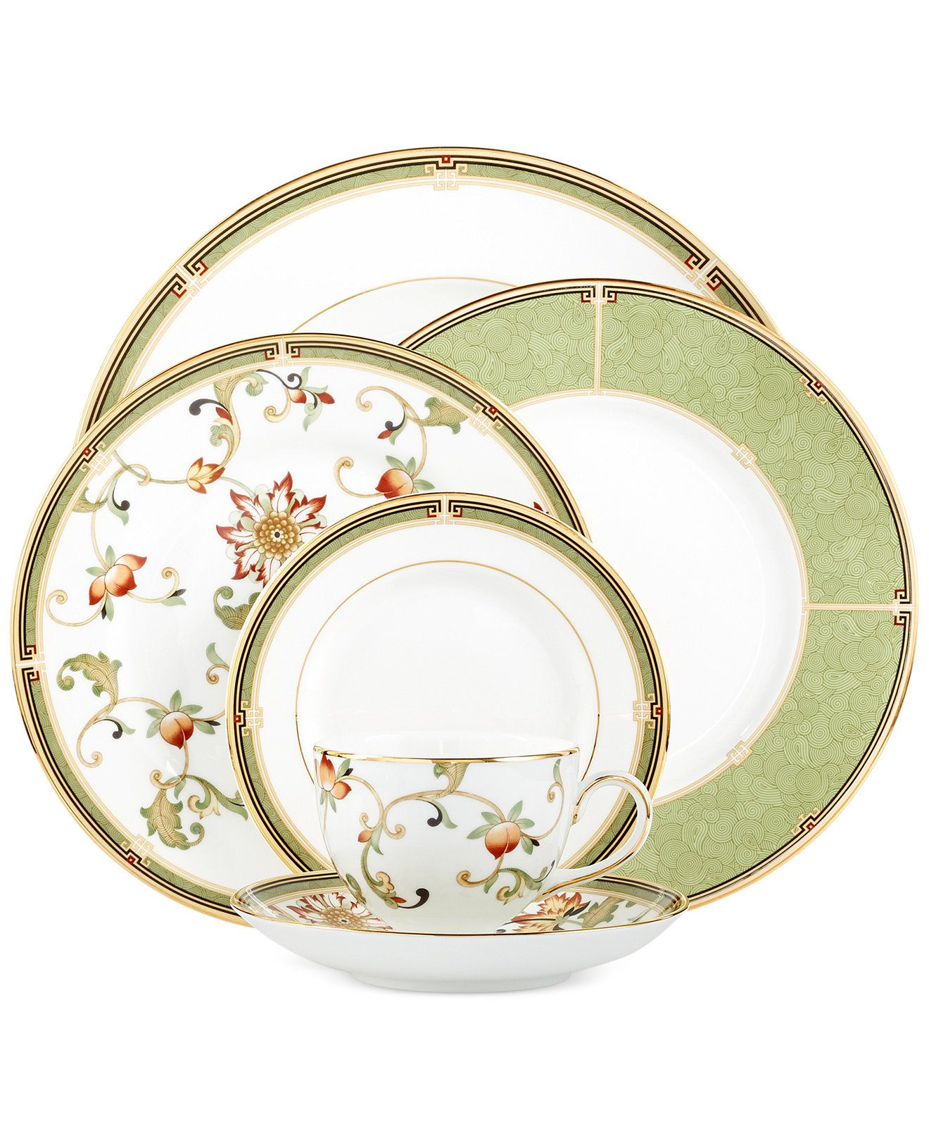 Oberon Collection Fine China Dinnerware China Dinnerware Sets