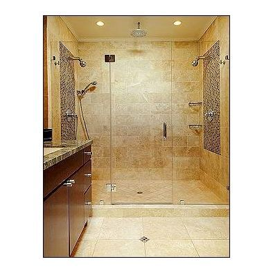 bathroom dual heads shower design, pictures, remodel