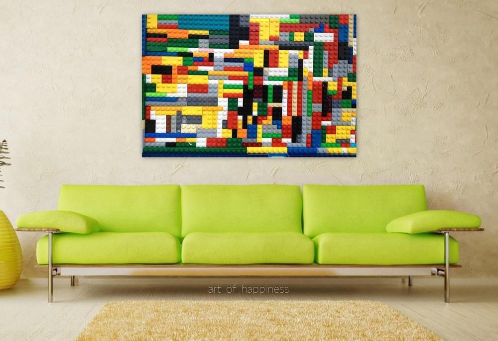 Stunning Poster Wall Art Decor Lego Puzzle Board 36x24 Inches In Art Posters Ebay Poster Wall Wall Art Decor Poster Wall Art