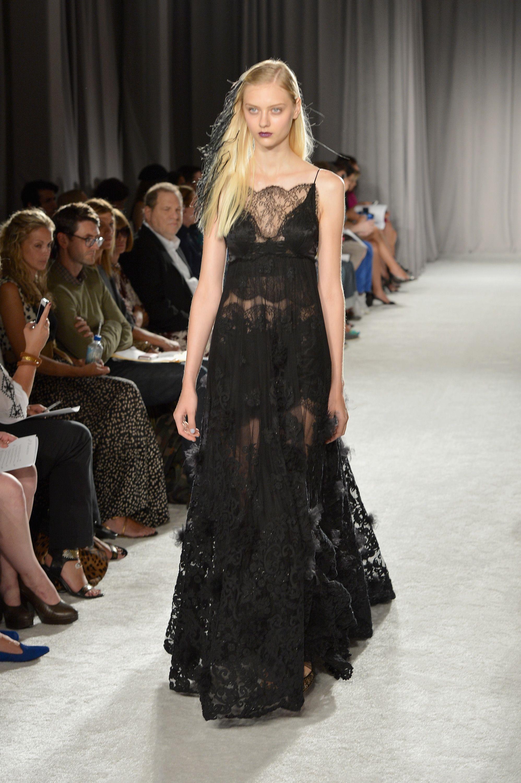 New York Fugshion Week: Marchesa Marchesa - Runway - Mercedes-Benz Fashion Week Spring 2014 – Go Fug Yourself